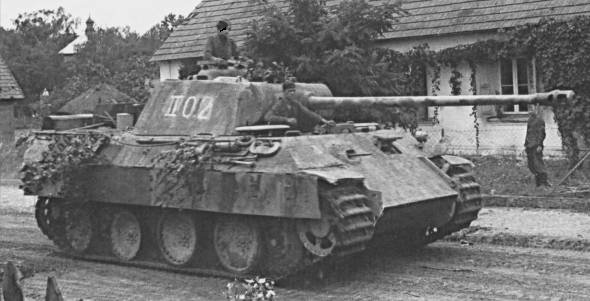 パンター戦車〜