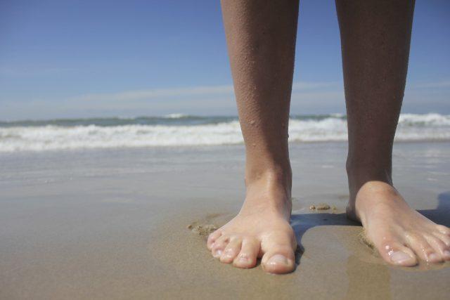 セイリッシュ海における人間の足〜